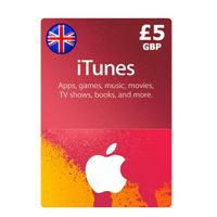 £5.00 iTunes UK Apple Store Giftcard - Auto Delivery [USE DISCOUNT COUPON ON MY PROFILE]