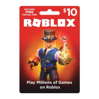 $10.00 Roblox Gift Card Digital Pin Delivery 1000 Robux Premium Membership