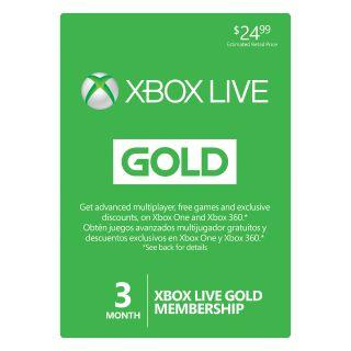 Xbox Live Gold 3 Months Brazil