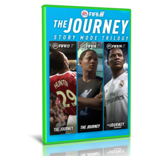 FIFA The Journey Trilogy All Fifa Games 17 / 18 / 19 for Xbox one Instant Delivery