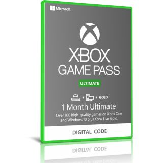 Xbox 1 Month GAME PASS Ultimate Brazilian