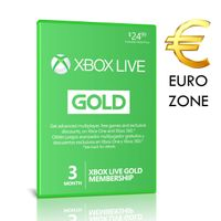 Xbox Live Gold 3 Months EUROPE EU Membership [ USE CODE IN MY PROFILE ]