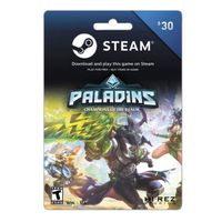 $30.00 Steam Gift Card Wallet Balance - Digital Delivery - Instant [ USE DISCOUNT CODE ON MY PROFILE MAX -5$ OFF ]