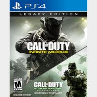 Call of Duty Infinite Warfare + Modern Warfare 2 Remastered PS4 Legacy Edition Instant Delivery