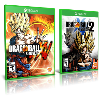 DRAGON BALL XENOVERSE Super Bundle Both Games for Xbox One Instant Delivery [DISCOUNT CODE ON PROFILE]