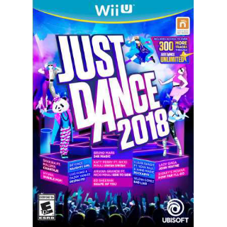 Just Dance 2018 For Wii U