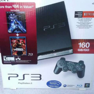 NEW PLAYSTATION 3 HOLIDAY BUNDLE