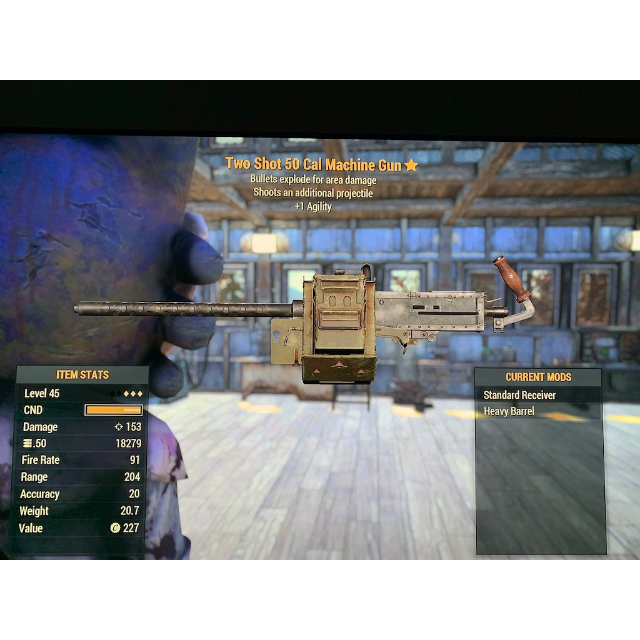 Weapon | 3* TSE  50 Cal MG - In-Game Items - Gameflip