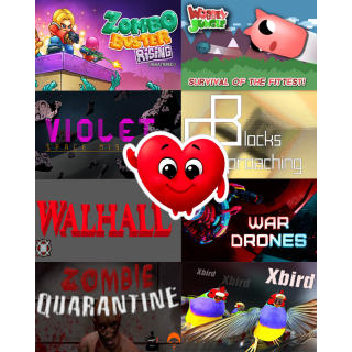 8 Steam Games [PACK 1]