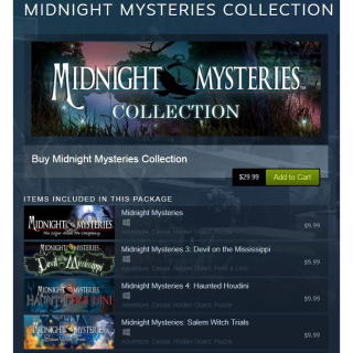 MIDNIGHT MYSTERIES COLLECTION [Steam\Global]