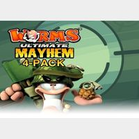 Worms Ultimate Mayhem 4-Pack