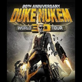 Duke Nukem 3D: 20th Anniversary World Tour Steam CD Key [Global]