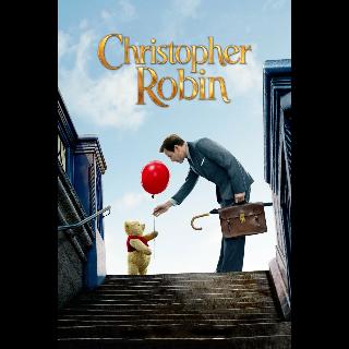 Christopher Robin Full Disney HD Code (Unslpit) Includes DMR