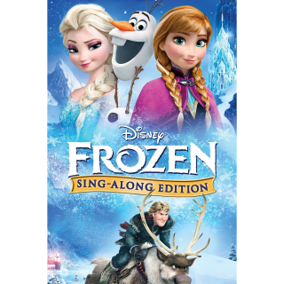 Frozen Sing-Along Edition (Full ) with DMR (A must have for Frozen fans) Your kids will love it
