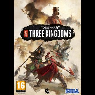 Total War: Three Kingdoms Steam key GLOBAL ⚡️ INSTANT ⚡️
