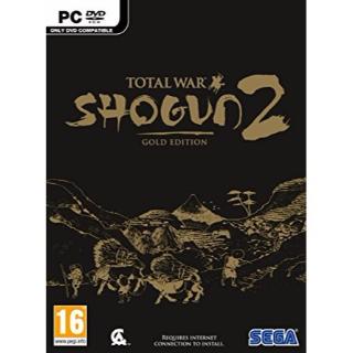 TOTAL WAR: SHOGUN 2 GOLD EDITION STEAM GLOBAL CD KEY INSTANT