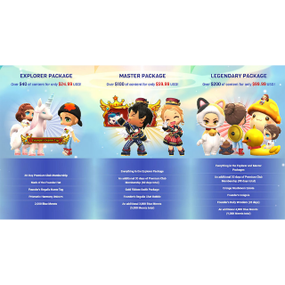 MapleStory 2 MASTER Package Steam KEY instant value $100