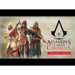 ASSASSIN'S CREED CHRONICLES: TRILOGY UPLAY CD KEY INSTANT DELIVERY