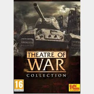 THEATRE OF WAR COLLECTION ⚡️ 6 GAMES ⚡️ GLOBAL steam key instant delivery ⚡️