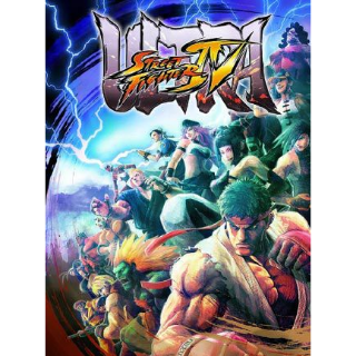 Ultra Street Fighter IV Steam Key EUROPE -  INSTANT