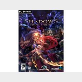 Shadows: Heretic Kingdoms $39.99 at steam store INSTANT DELIVERY CD KEY GLOBAL