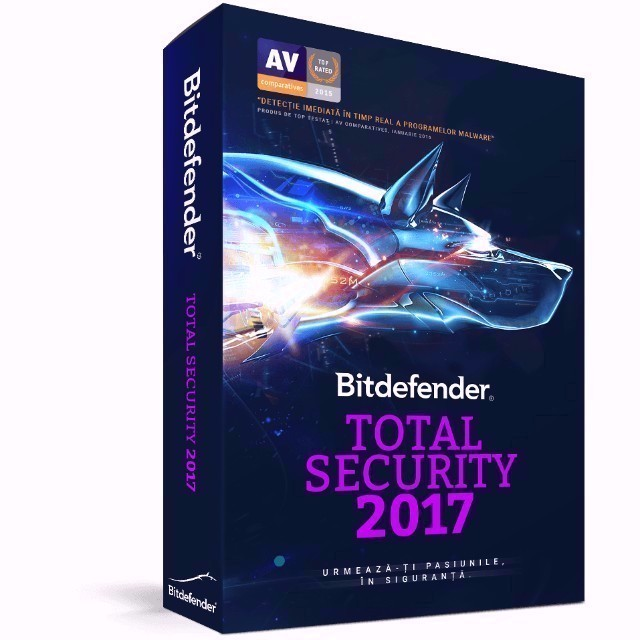 Bitdefender Total Security 2017 3 PC 9 Months /Key Code For
