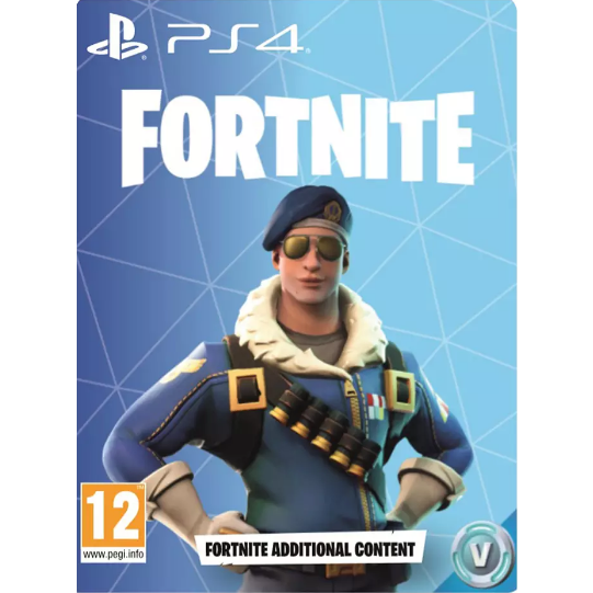 Fortnite Royal Bomber Skin 500 Vbucks Cd Key Ps4 Games Gameflip