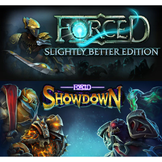 FORCED + FORCED Showdown (Steam - Global)
