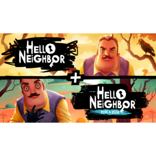 Hello Neighbor + Hello Neighbor Hide and Seek (Steam - Global)