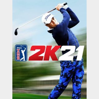 PGA TOUR 2K21 (Steam - Europe)
