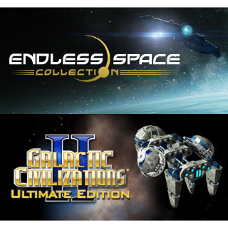 Endless Space + Galactic Civilizations II (Steam - Global)