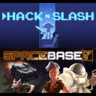 Hack 'n' Slash + Spacebase DF-9 (Steam - Global)