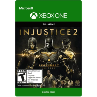 Injustice 2  Legendary Edition  Xbox One U.S Region  Instant Delivery
