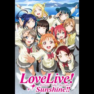 Love Live Sunshine Seasons 1&2 Funimation Digital