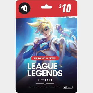 $10.00 Riot Points USA Automatic Delivery
