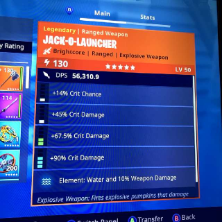 Jack O Launcher | Water Jacko