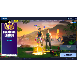 I will boost your account on fortnite to champions league