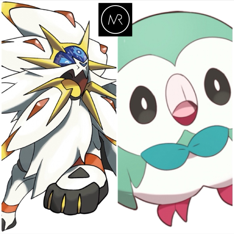 6iv Solgaleo Shiny Rowlet Pokemon Sun And Moon 3ds Nintendo Alola