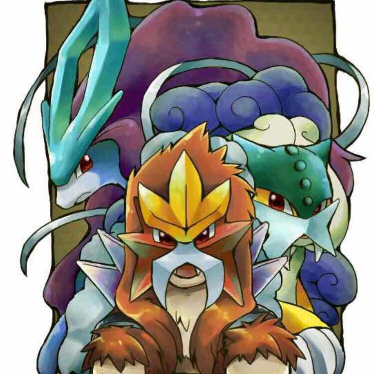 Shiny Raikou, Entei & Suicune Pokemon X, Y, Omega Ruby ...