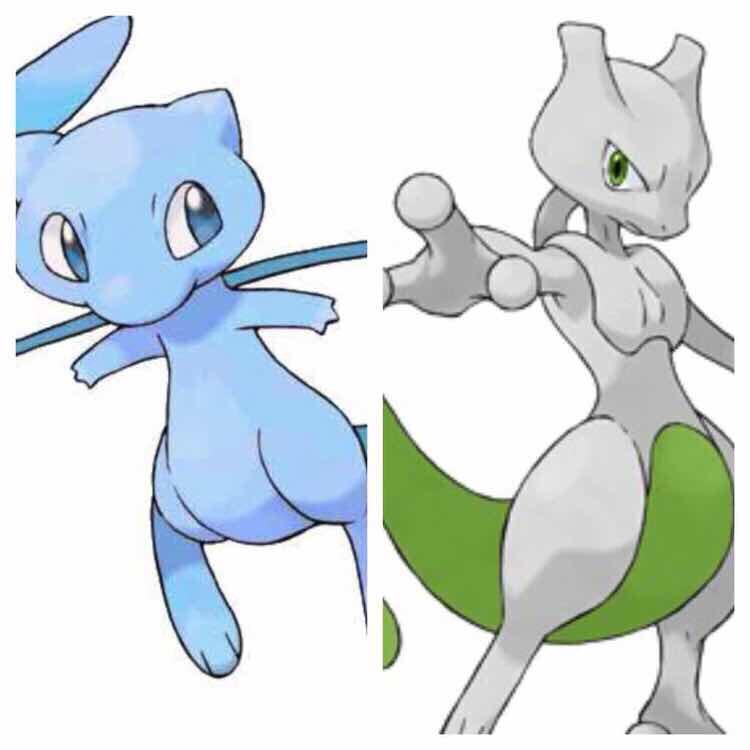 Shiny Mew & Mewtwo Pokemon X, Y, Omega Ruby & Alpha ...