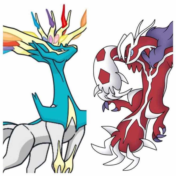 Shiny Event Xerneas & Yveltal Pokemon X, Y, Omega Ruby ...