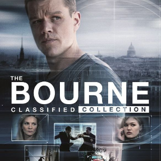 *InstaWatch* Jason Bourne Collection (VUDU HDX) - READ DESCRIPTION!