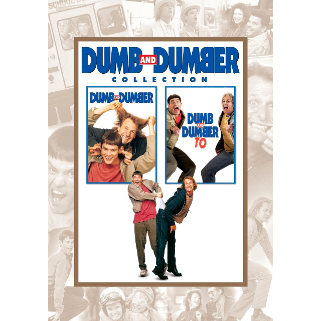 (HD Vudu or MA) Dumb & Dumber Duology - Digital Movies