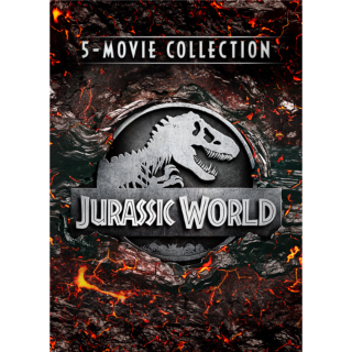 *InstaWatch* Jurassic Park 5-Movie Collection (VUDU HDX) - READ DESCRIPTION!