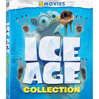 (HD) Ice Age 5-Movie Collection MA or VUDU