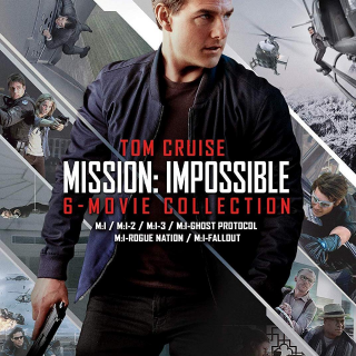 *InstaWatch* (VUDU HDX) Mission: Impossible - 6 Movie Collection