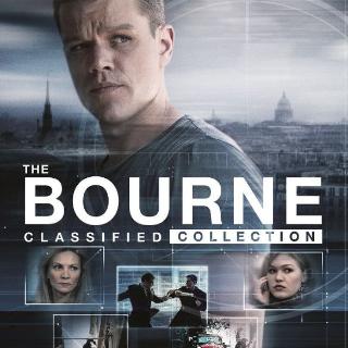 *InstaWatch* Jason Bourne Collection (VUDU HDX)