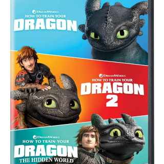 (HD) How To Train Your Dragon Trilogy (MA or VUDU)