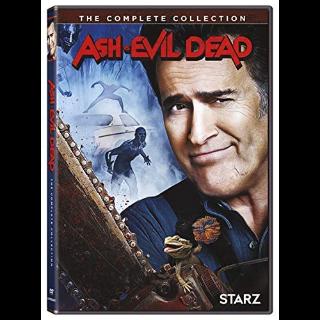 *InstaWatch* Ash vs. Evil Dead Complete Collection (VUDU HDX) - READ DESCRIPTION!