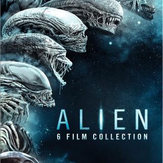 *InstaWatch* Alien 6 Film Collection (VUDU HDX) - READ DESCRIPTION!